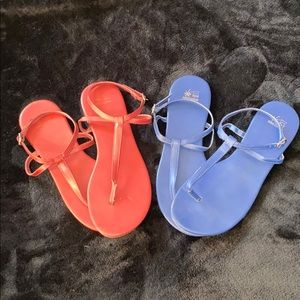 Bundle of Strappy Sandals